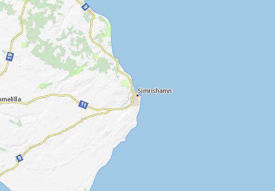 Simrishamn Map