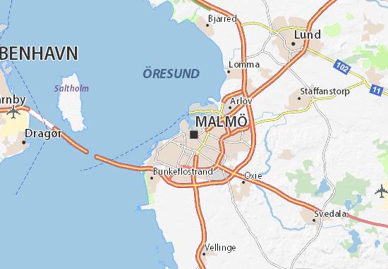Carte-Plan Malmö