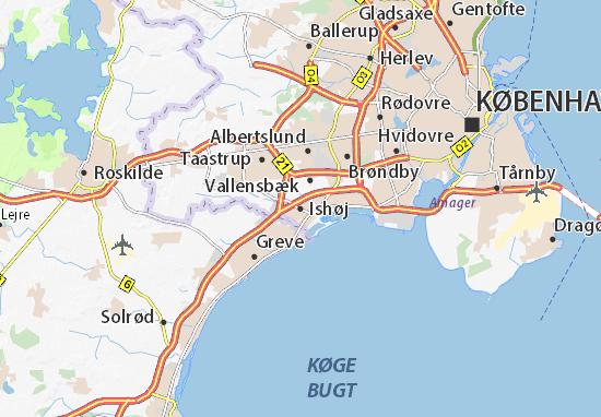 Mapas-Planos Ishøj