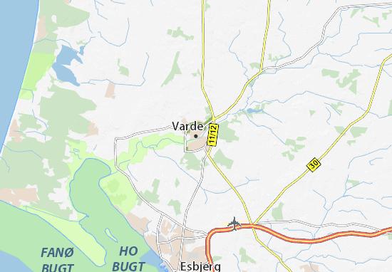 Varde Map
