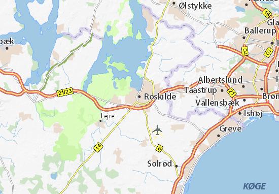Roskilde Map