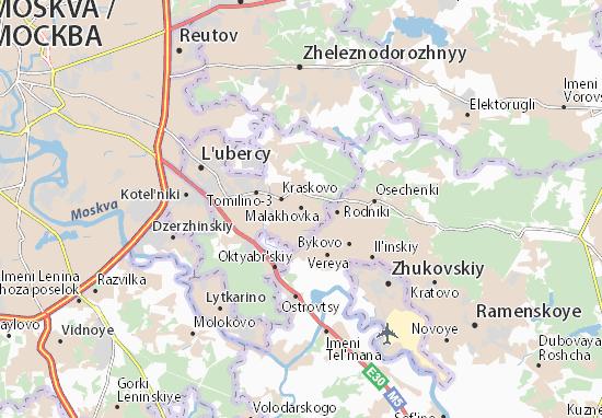 Carte-Plan Malakhovka