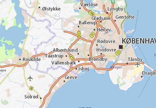 Carte-Plan Albertslund