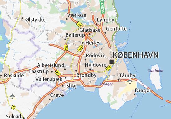Rødovre Map