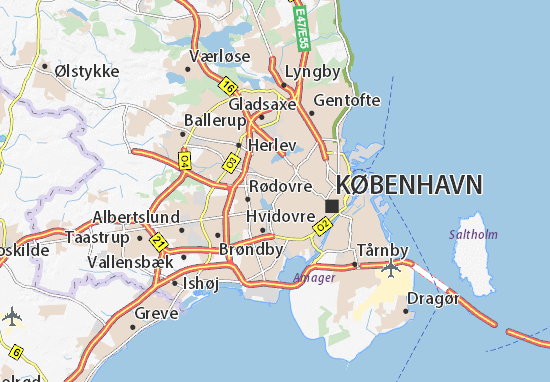 Vanløse Map