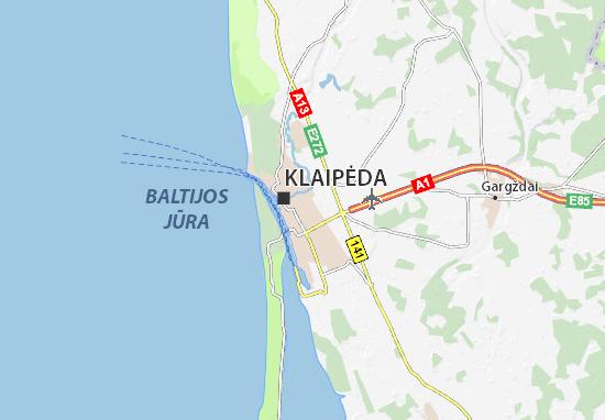 Mapas-Planos Klaipėda