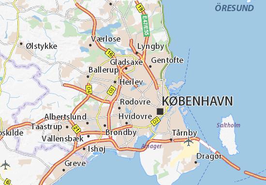 Brønshøj Map