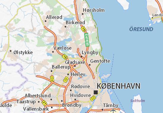 Mapas-Planos Lyngby