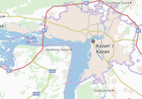 Carte-Plan Verkhniy Uslon