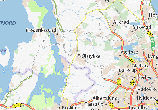 Carte-Plan Ølstykke
