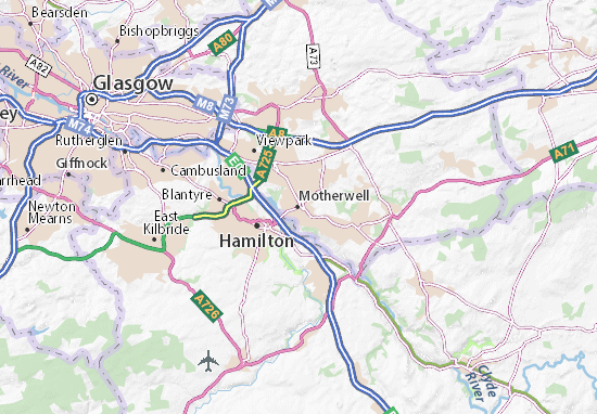Motherwell Map