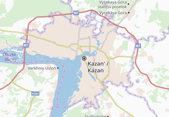 Kazan' Map