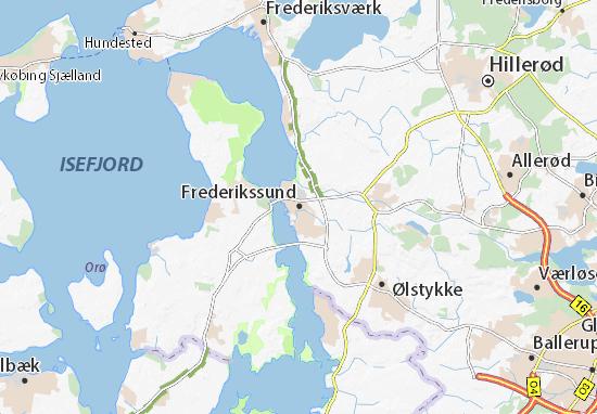 Frederikssund Map