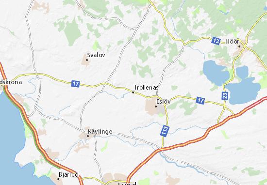 Mapas-Planos Trollenäs