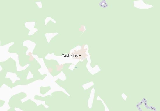 Kaart Plattegrond Yashkino