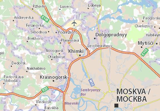 Khimki Map