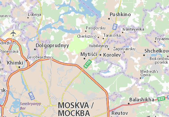 Mapas-Planos Mytišči