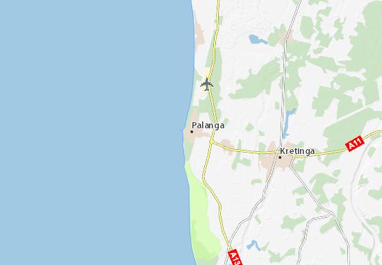 Mapas-Planos Palanga