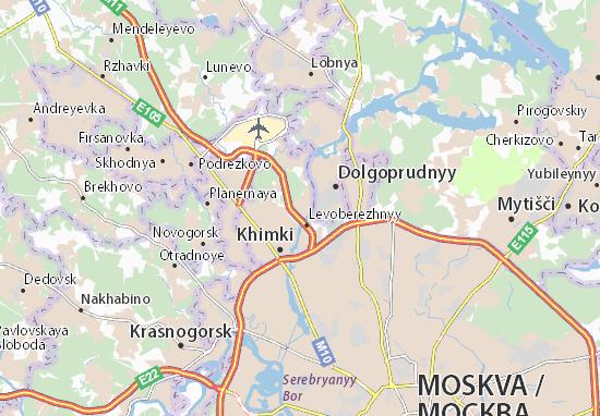 Mappe-Piantine Starbeyevo