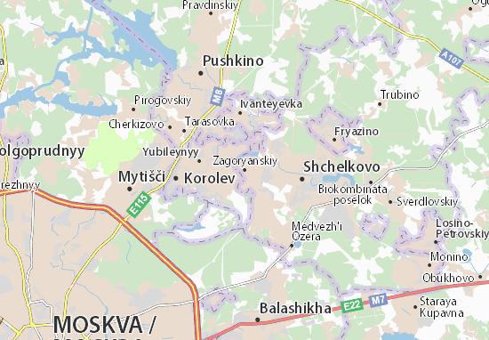 Zagoryanskiy Map