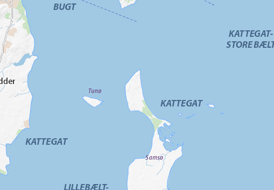Nordby Map