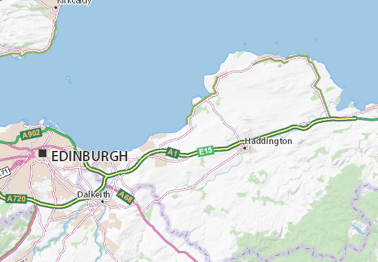 Longniddry Map