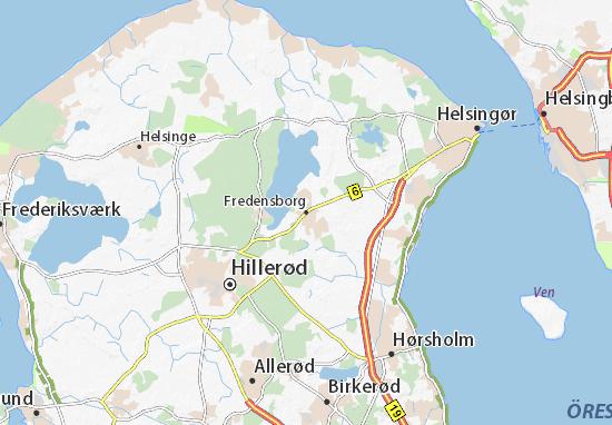 Mapas-Planos Fredensborg