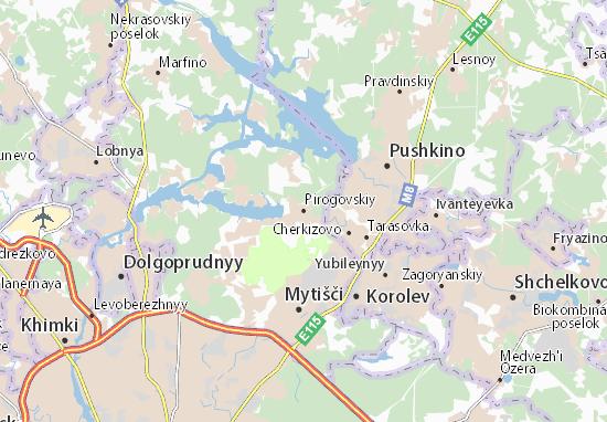 Carte-Plan Pirogovskiy
