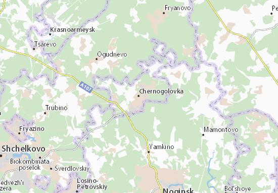 Mappe-Piantine Chernogolovka