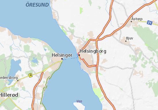 Helsingborg Map