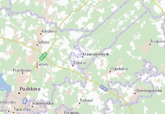 Carte-Plan Krasnoarmeysk
