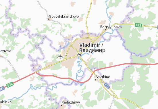 Carte-Plan Vladimir