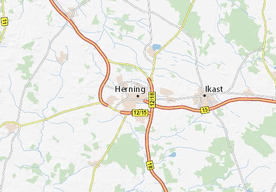 Herning Map