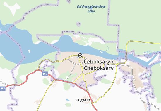 Carte-Plan Čeboksary