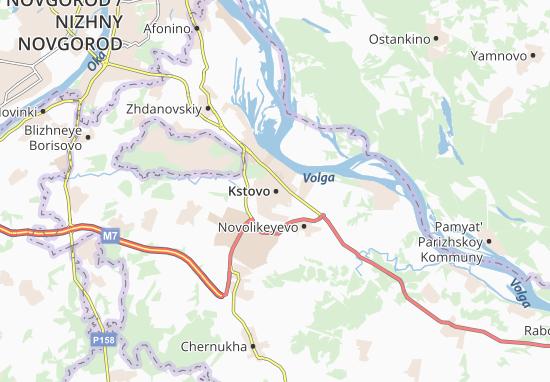 Kstovo Map