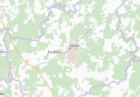 Mapa Plano Kiržač
