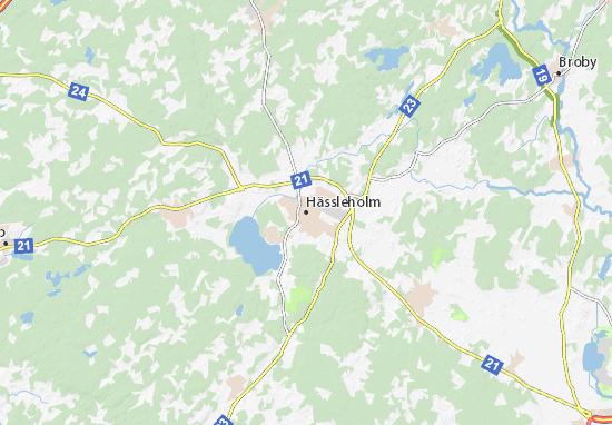 Mappe-Piantine Hässleholm