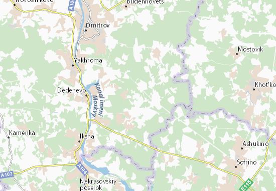 Carte-Plan Andreykovo