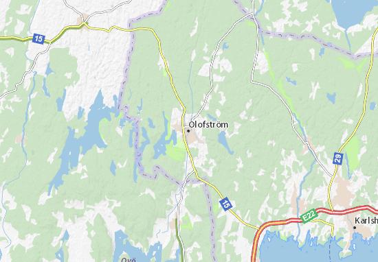 Carte-Plan Olofström