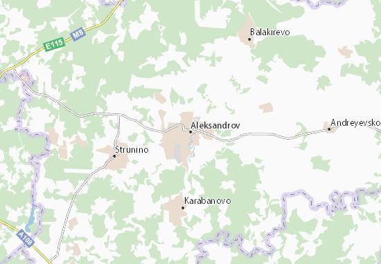 Carte-Plan Aleksandrov