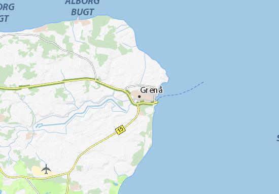 Grenå Map