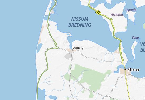 Mapas-Planos Lemvig