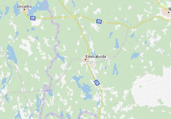 Mapas-Planos Emmaboda