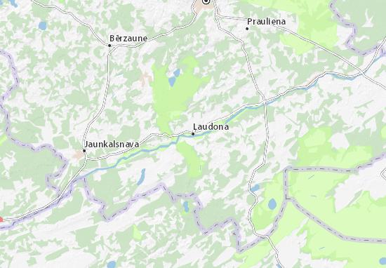 Mapas-Planos Ļaudona