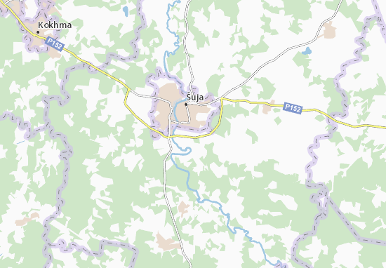 Carte-Plan Ostapovo