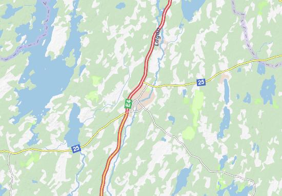 Ljungby Map