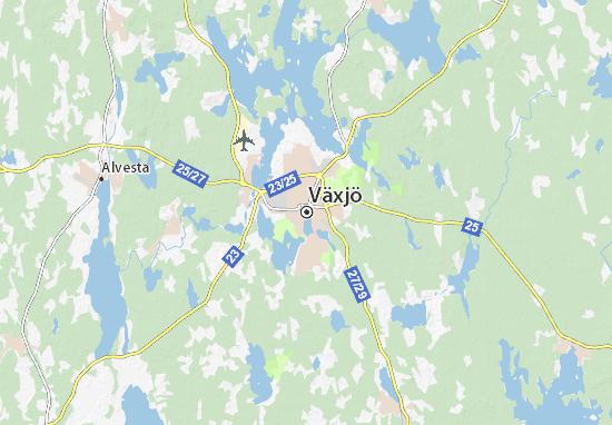 Mappe-Piantine Växjö