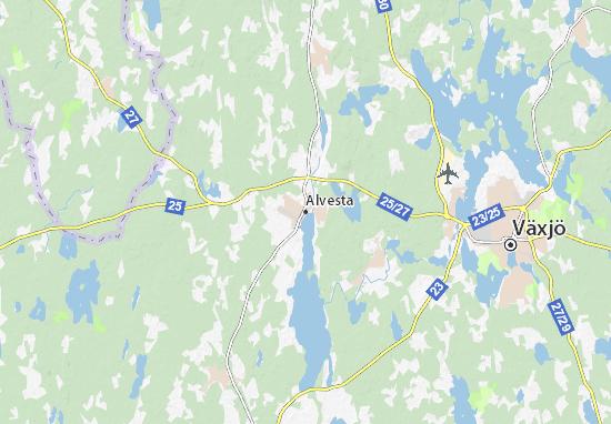 Mapas-Planos Alvesta