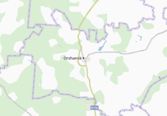 Carte-Plan Orshansk