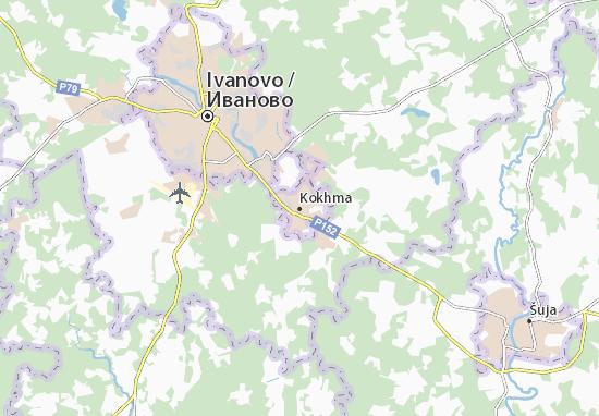 Kokhma Map